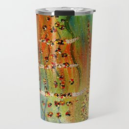 the girl, the harp, the spirit, and the song Travel Mug