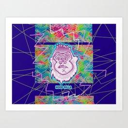 Bwilly Bwightt's Circus Member - Hood Rilla (Remixed) Art Print