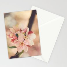 Pink Printemps  Stationery Cards