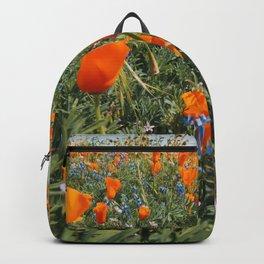 California Wildflower Superbloom Backpack