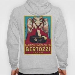 1930 Bertozzi Parma Italian Advertising Poster Hoody