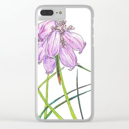 Bell Heather Clear iPhone Case