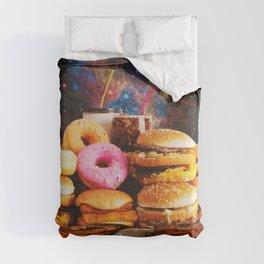 Food in Crime Comforters