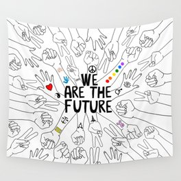 We Are The Future Tattoos Part 1 Wall Tapestry