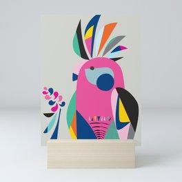 Miss galah Mini Art Print