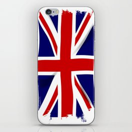 Union Jack Grunge iPhone Skin