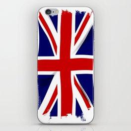 Union Jack Grunge iPhone Skin