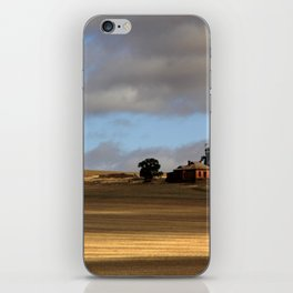 Rural Landscape and Farmhouse in Australia iPhone Skin