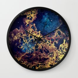 Cosmic dance I Wall Clock