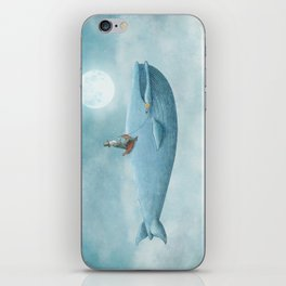 Whale Rider iPhone Skin