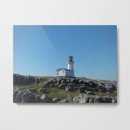 Cape Norman Lighthouse Metal Print