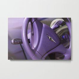 Chery S-18 Reev Electric Steering Wheel Metal Print
