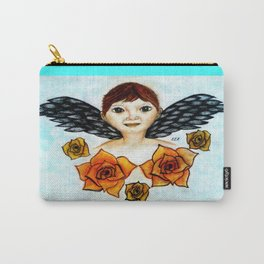Little Angel by Saribelle Rodriguez Carry-All Pouch