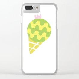 pistachios Clear iPhone Case