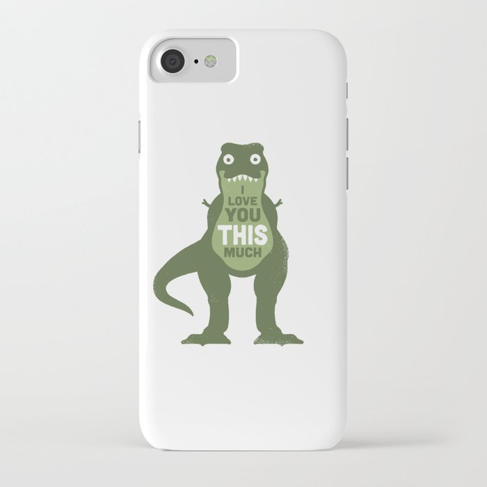 amourosaurus iphone case