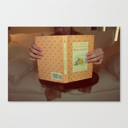 Winnie•the•Pooh Canvas Print