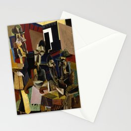 Max Weber - The Visit Stationery Cards