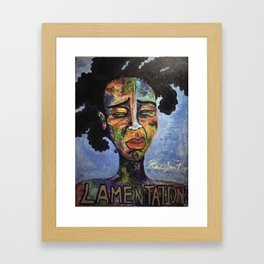 Lamentations Framed Art Print