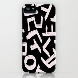 Hangeul iPhone Case