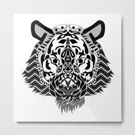 Sr. Tigre de Bengala Metal Print