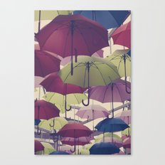 Why does it always rain on me? Canvas Print