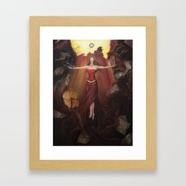 Lady M Framed Art Print