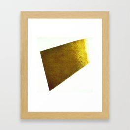 Kazimir Malevich Yellow Plane in Dissolution Framed Art Print