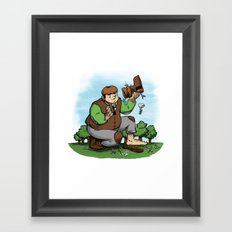 There's my Boot Framed Art Print