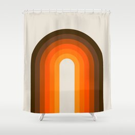Golden Rainbow Shower Curtain