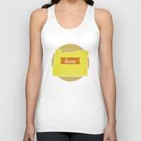 oregon Tank Tops featuring Oregon by Embellished Key