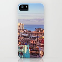 Old Havana at Morning iPhone Case
