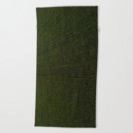 Rural Corn Fields Beach Towel