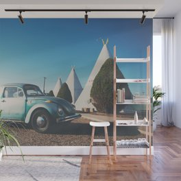 the wigwam motel ... Wall Mural