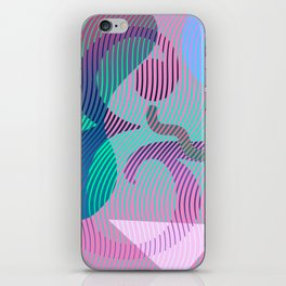 Moiré Ampersand iPhone Skin