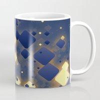 data Mugs featuring Data Skys by ReinventZen