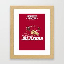 Monster Hunter All Stars - The Minegarde Blazers Framed Art Print