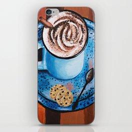 Cappucino Time iPhone Skin