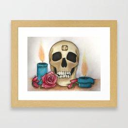 Strengh in Death Framed Art Print