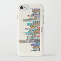memphis iPhone & iPod Cases featuring Memphis city by bri.buckley