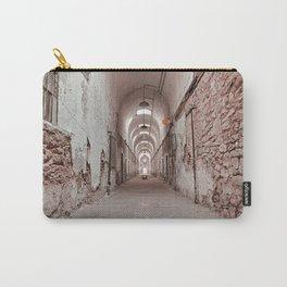 Crimson Prison Corridor Carry-All Pouch