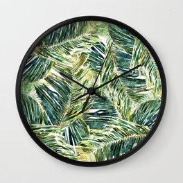 Classic Palm #society6 #decor #buyart Wall Clock