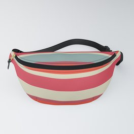 Stripes blush Fanny Pack