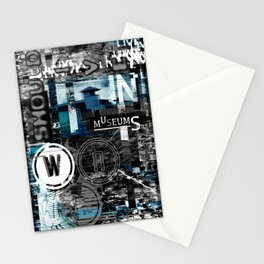 War should live in museums. Stationery Cards