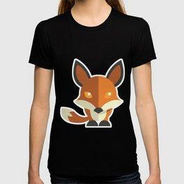 Cute Kyuubi Red Fox T-shirt