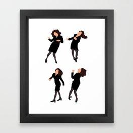 The Little Kicks Framed Art Print