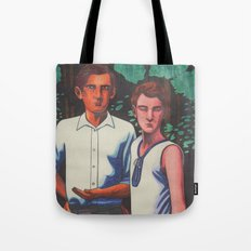 Siegfried and Stephen Tote Bag