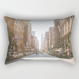 New York City Streets Rectangular Pillow
