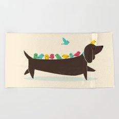 Bird Dog Beach Towel