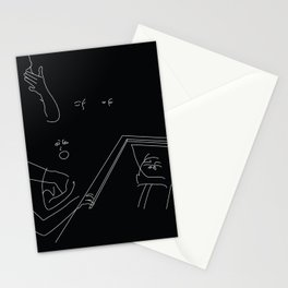 funerals are for the living Stationery Cards