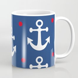 Nautical Anchors Coffee Mug